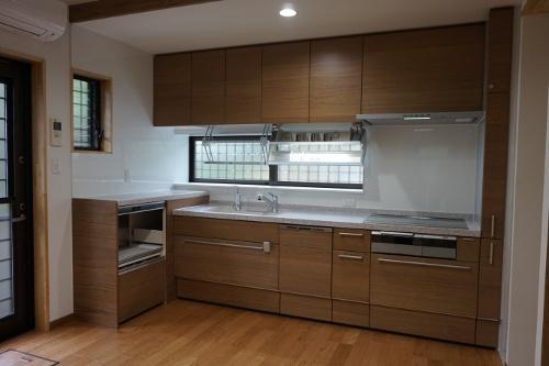 笹尾邸 キッチン全体 1334