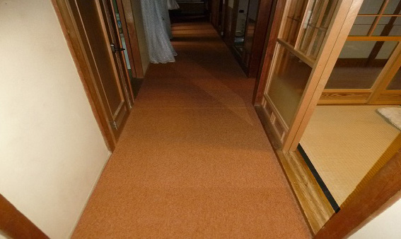 ■工事しました。■カーペット工事 奈良市 I様邸