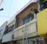 ■大阪市東住吉区テナント 外部改修工事始まりました