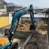 ■香芝市Y様邸 外構工事が始まりました