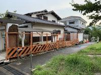 ■生駒市N様邸 ブロック塀改修工事始まりました