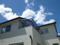 ■奈良市N様邸 バルコニーテラス屋根工事完工しました